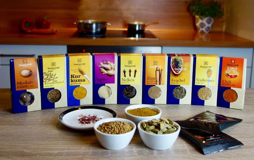 Ayurvedische Küche Starterkit