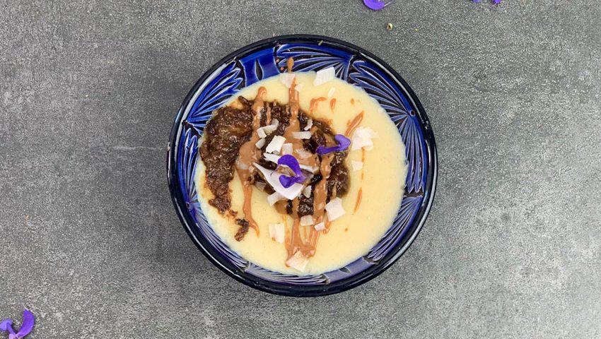 Kokos-Reis-Pudding