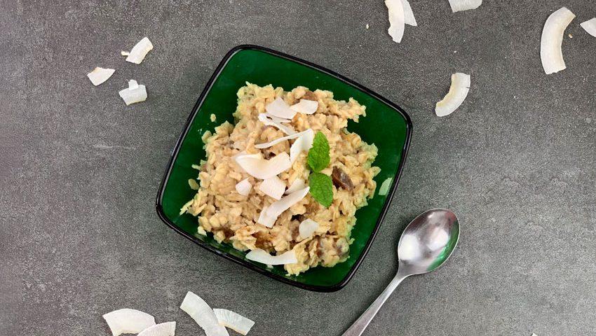 Ayurvedisches Kokosmilch Porridge