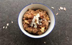 Apfel-Zimt Porridge