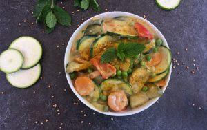 Würziges Kokos-Gemüse