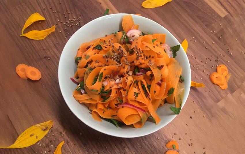 Ayurvedischer Karottensalat