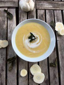 Ayurvedische Wintergemüse-Suppe