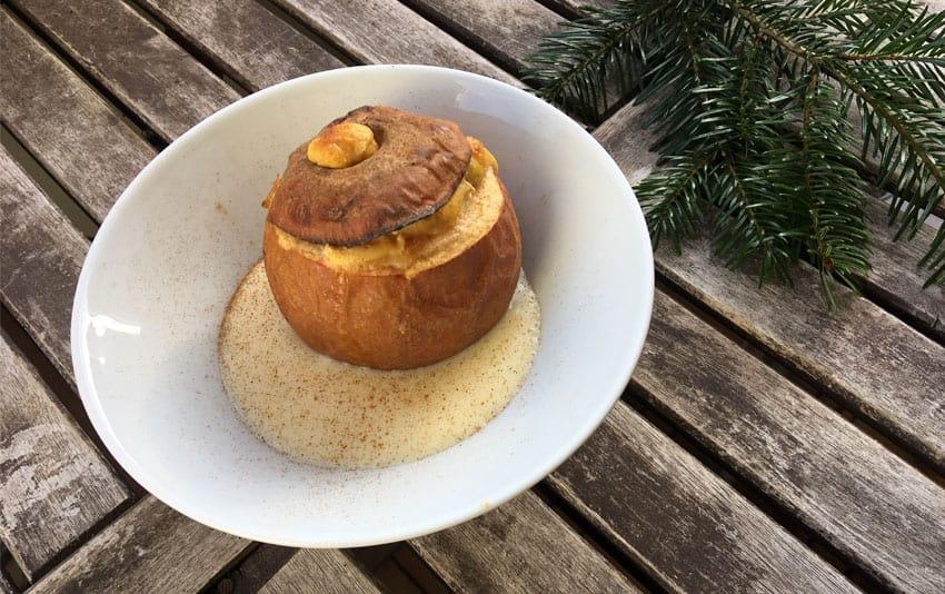 Ayurvedischer Bratapfel