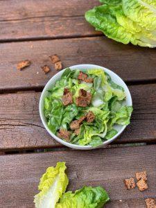 Sattvischer Caesar Salad