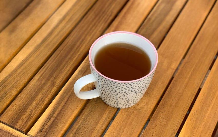 Weißer Tee mit Ingwer