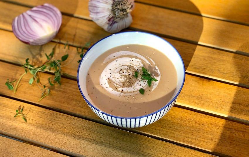 Ayurvedische Maronensuppe