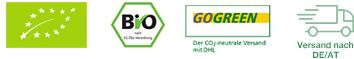 Ayurveda Gewürzset Gütesiegel (EU Bio, Bio-Siegel, DHL)