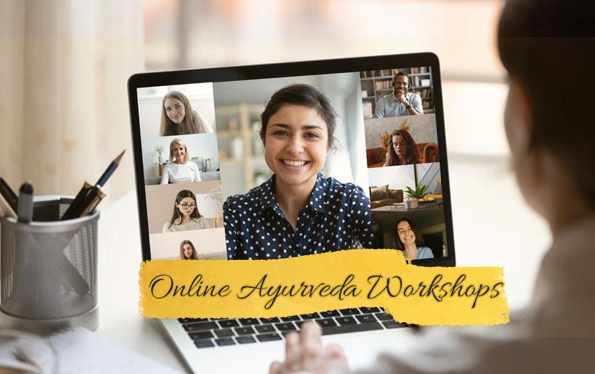 Online Ayurveda Workshops