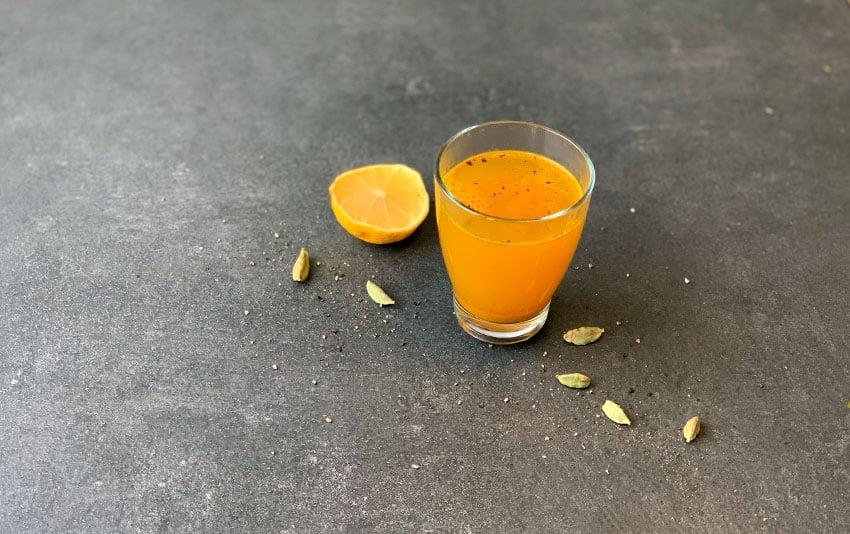 Warmer Stoffwechsel-Drink