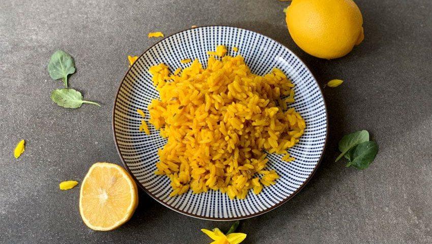 Zitronen-Reis