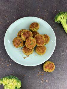 Low Carb Brokkoli Nuggets